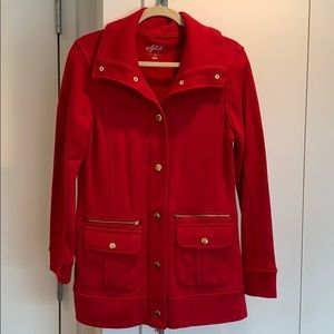 Style co sports red jacket!